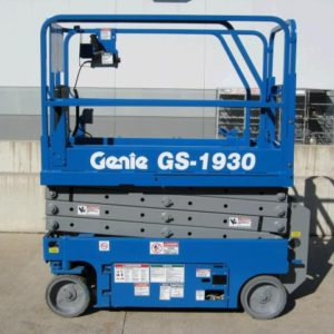 19' Scissor Lift electric Genie 1930
