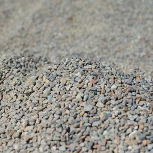 pea-gravel