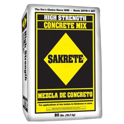 Sakrete 80 lb. Concrete mix